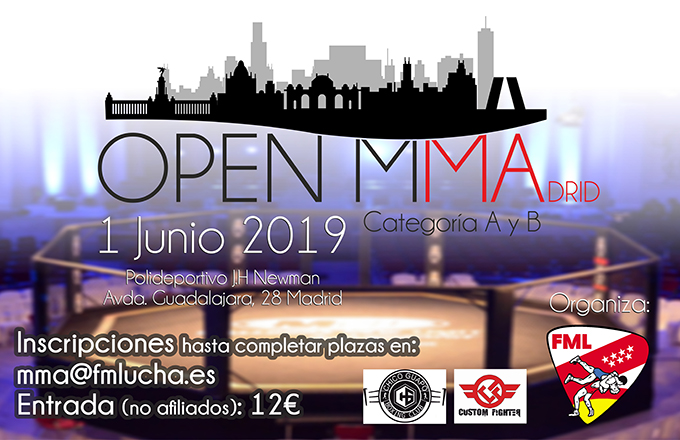 Open Madrid MMA - Amateur